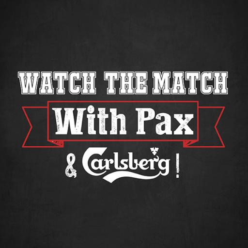 Watch The Match With Pax & Carlsberg!