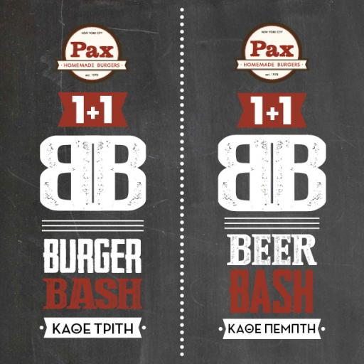 1+1 Burger Bash & 1+1 Beer Bash