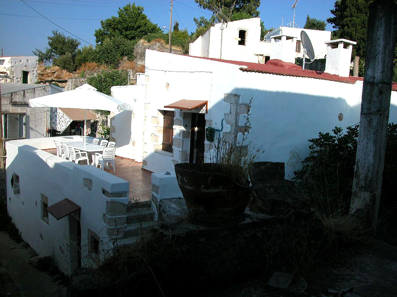 Traditional Cretan house