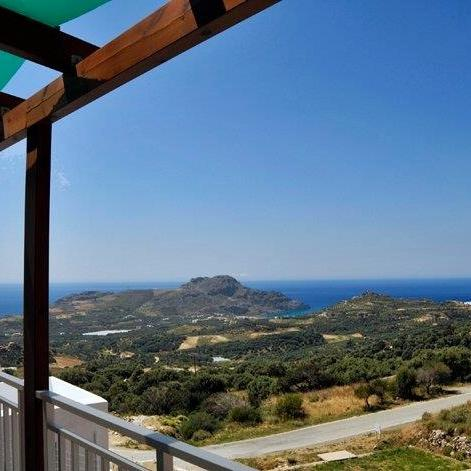 2 Semidetached houses of 55 m² each with great panoramic sea view!