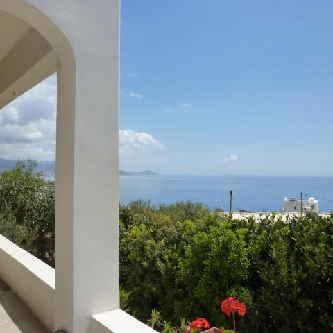 Villa in the South-east coast of crete with panoramic seaview