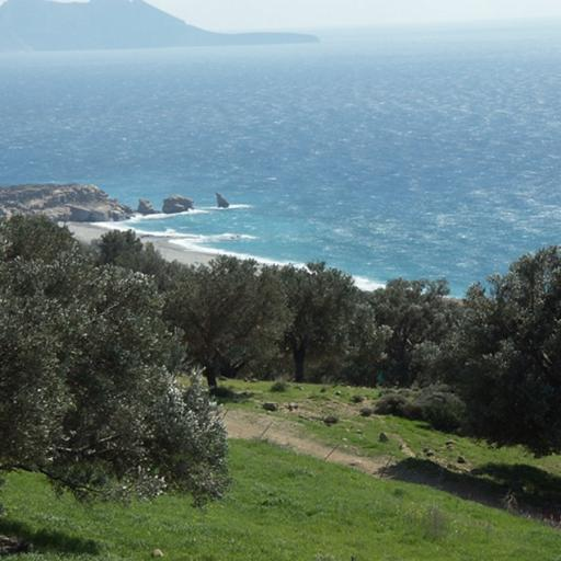 Building plot with active building license in south Rethymno