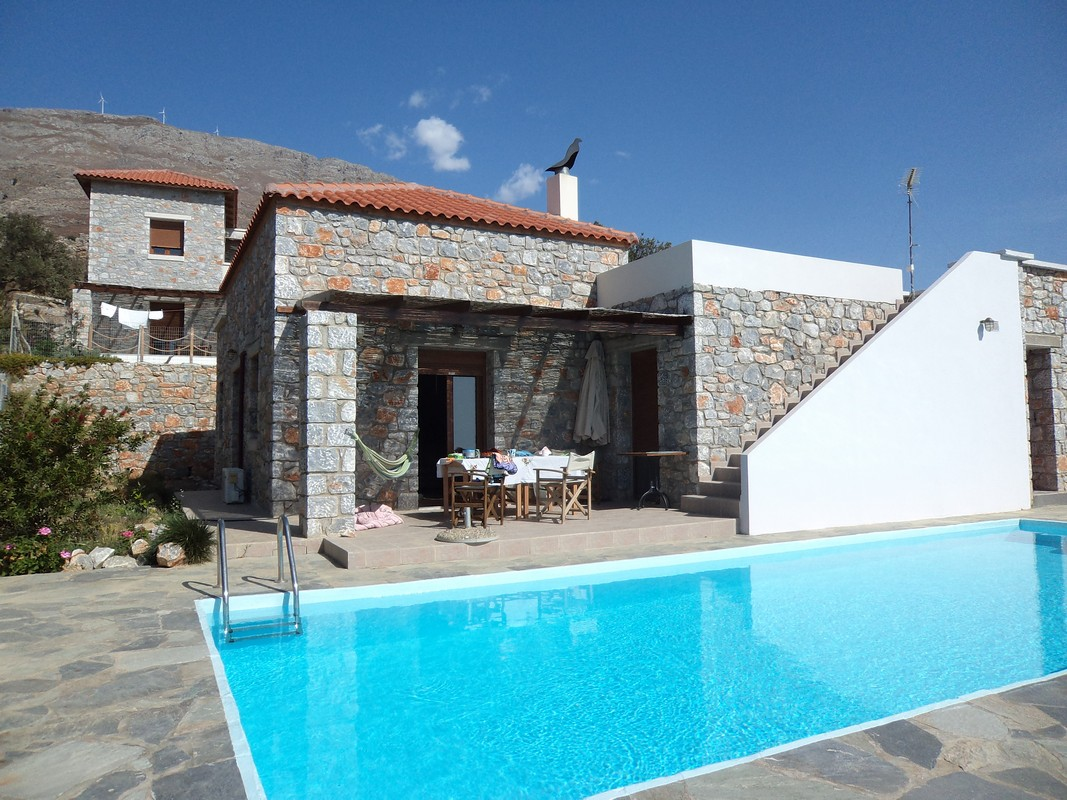 Stonebuilt  villa of 110 sqm in South Crete