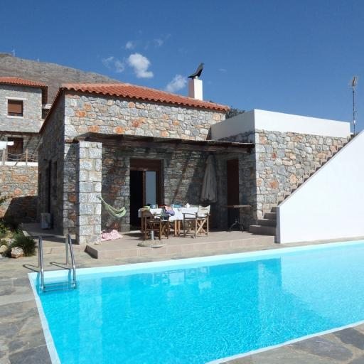 Stonebuilt  villa of 110 sqm in South Crete_SOLD