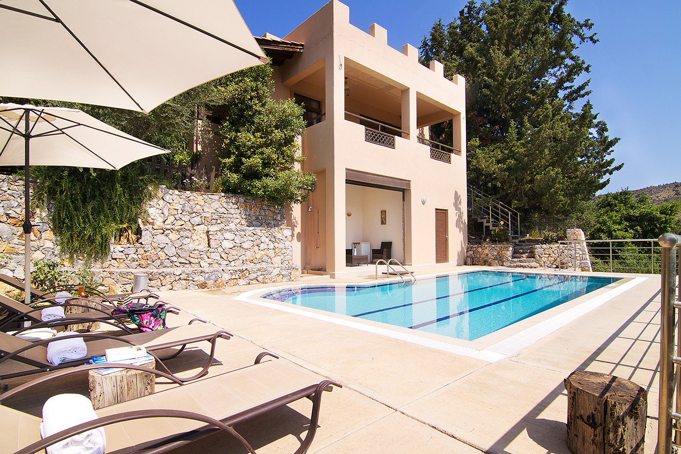 Detached villa in North Chania