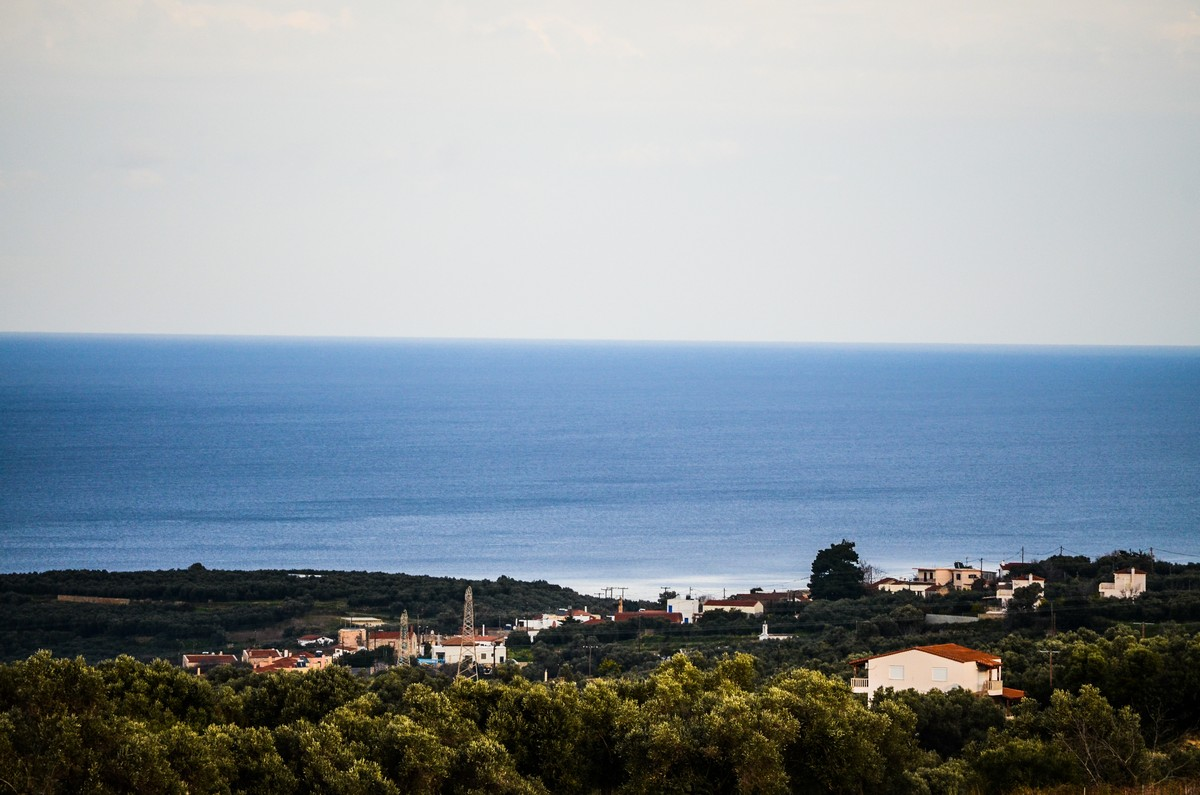 Plot of land with ready building license in South Rethymno