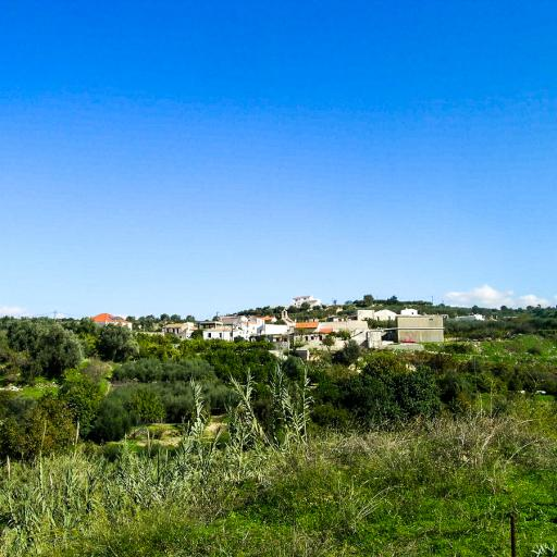 Plot of land with  ready building  proposals in Asteri Rethymno.
