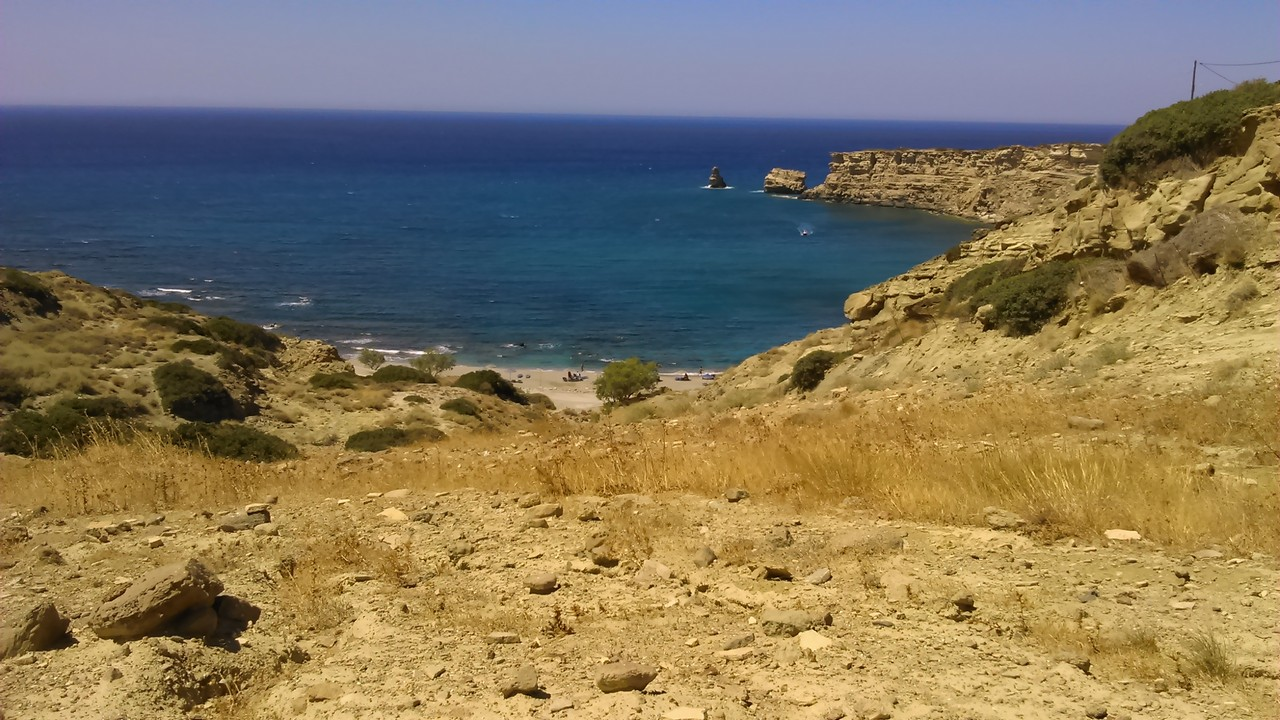 Plot of land in Triopetra beach