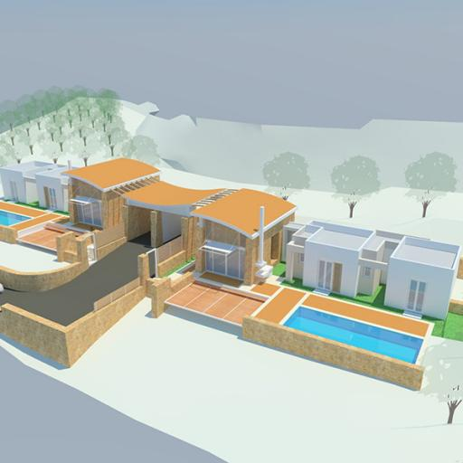 Asteri , Villa 3 bedrooms ready to build
