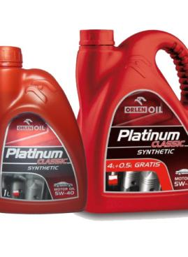 PLATINUM CLASSIC SYNTHETIC 5W-40