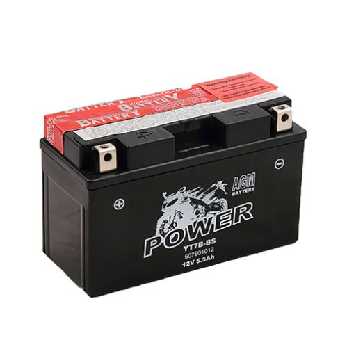 MOTO POWER YT7B-BS 12V 6,5AH AGM MF