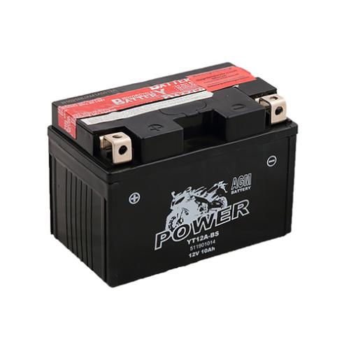 MOTO POWER YT12A-BS 12V 10AH AGM MF