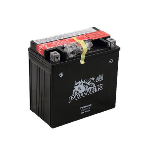 MOTO POWER YTX14-BS 12V 12AH AGM MF