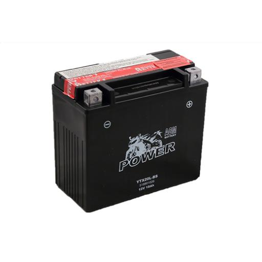 MOTO POWER YTX20L-BS 12V 18AH AGM MF