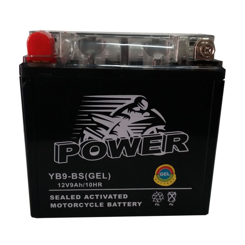 GEL MOTO POWER YB9-BS 12V 9AH